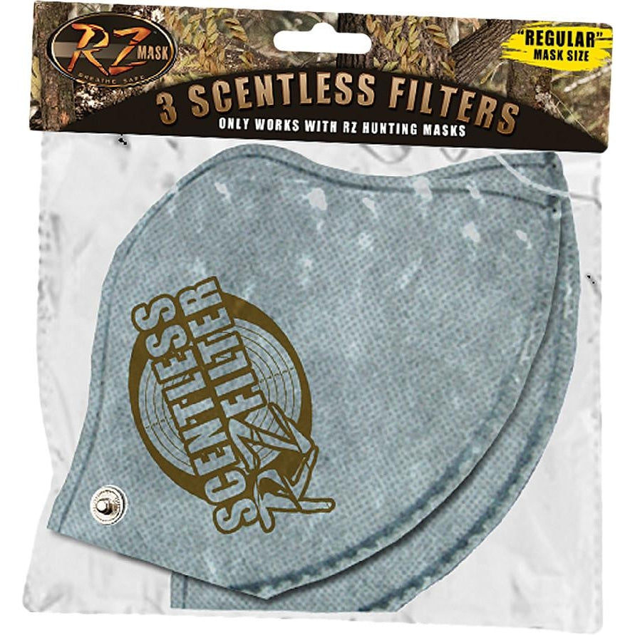 RZ Mask Scentless Filters 3 PK