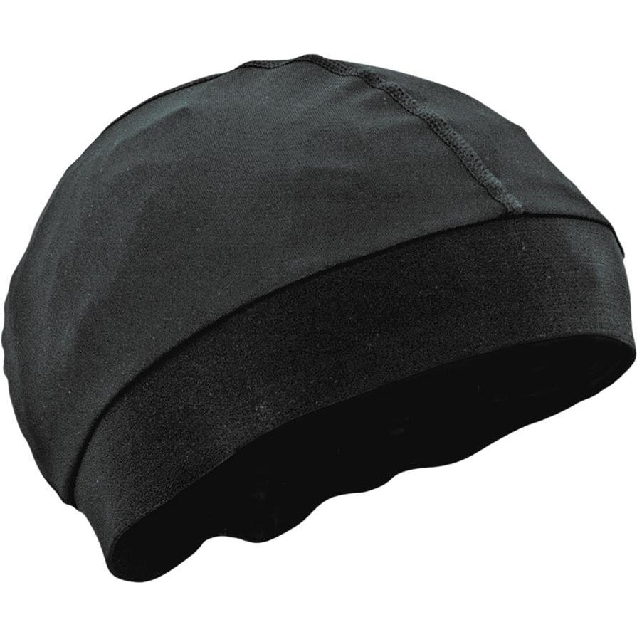 Skull Cap W/Comfort Band Black