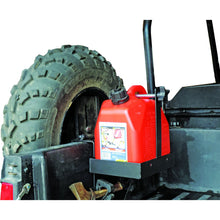 Auxiliary Fuel Can/Spare Tire Mount/Tool Holder for UTV