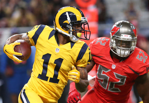 hot sales e0738 956be Rams will wear Color Rush uniforms vs. 49ers on Thursday ...