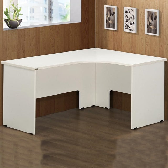 Ice Desk L Shape Right - Cheap Office Furniture Sydney