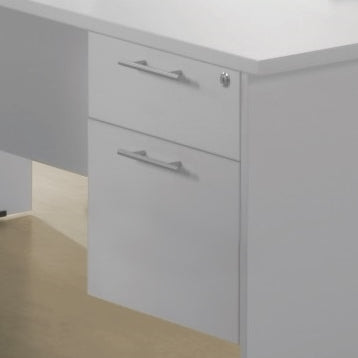Ice Fixed 2 Drawers - Cheap Office Furniture Sydney