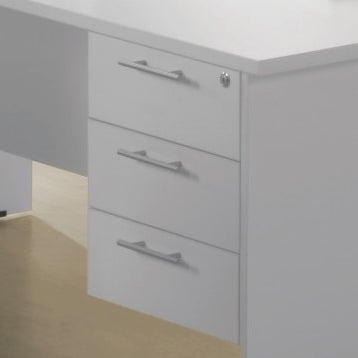 Ice Fixed 3 Drawers - Cheap Office Furniture Sydney