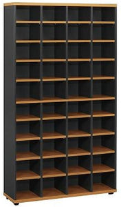 Pinnacle Pigeon Hole Bookcase 1800 - Cheap Office Furniture Sydney