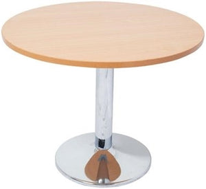 Serra Table Disc Base Beech - Cheap Office Furniture Sydney