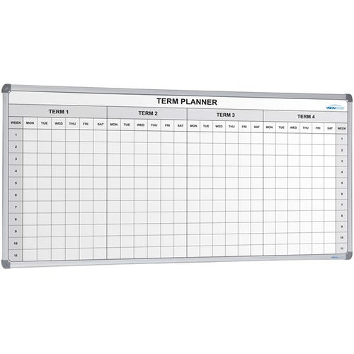 School 4 Term Planner Large - Cheap Office Furniture Sydney