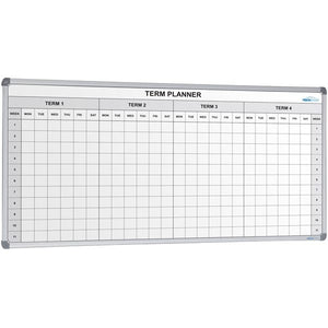 School 4 Term Planner 2400 x 1200 - Cheap Office Furniture Sydney