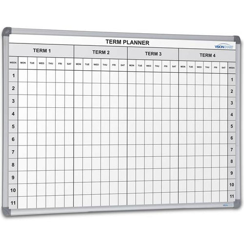 School 4 Term Planner 1200 x 900 - Cheap Office Furniture Sydney