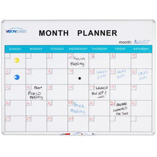 Month Planner Whiteboard - Cheap Office Furniture Sydney