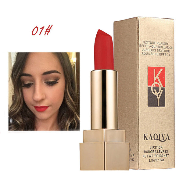 Waterproof Matt Lipstick Smooth Lips Stick Long Lasting Lip Lipstick Cosmetic
