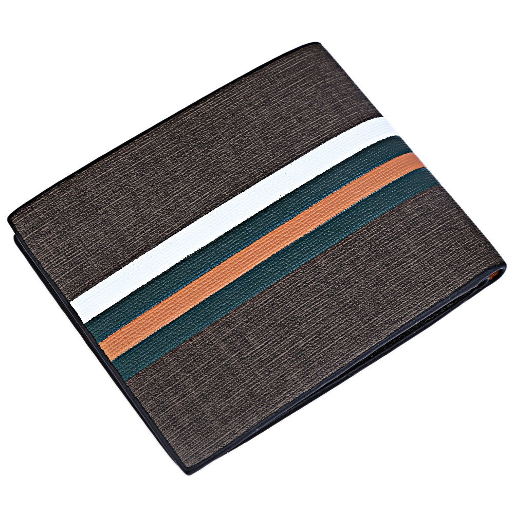 striped wallet for men