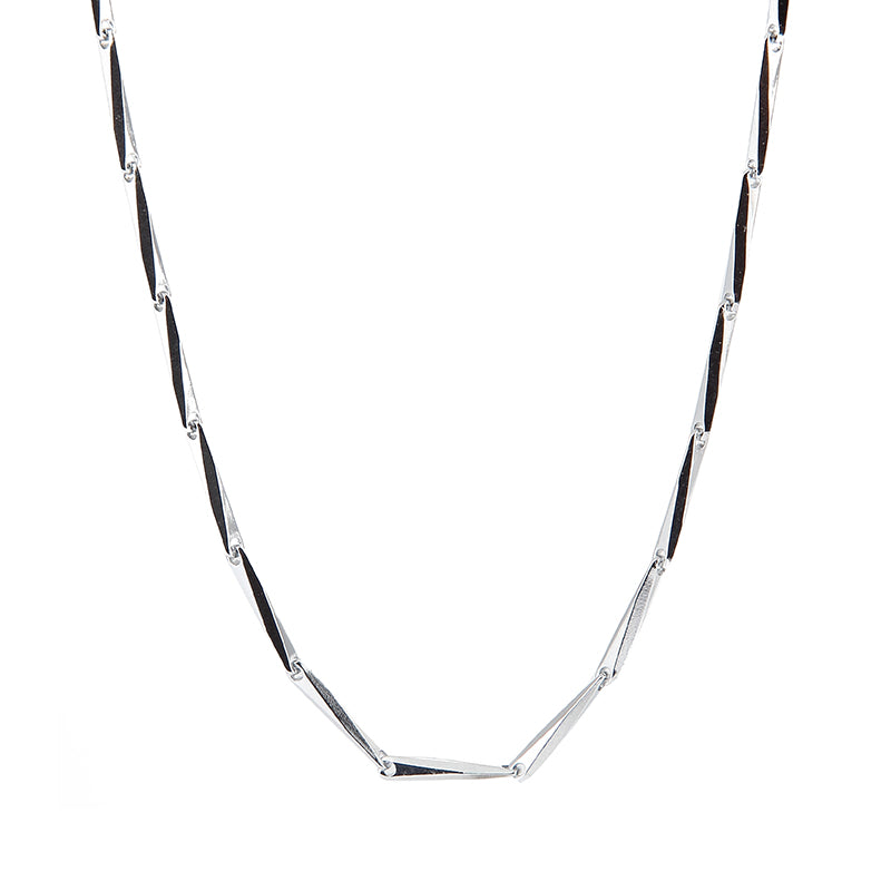 Futura Link Chain Necklace - Silver
