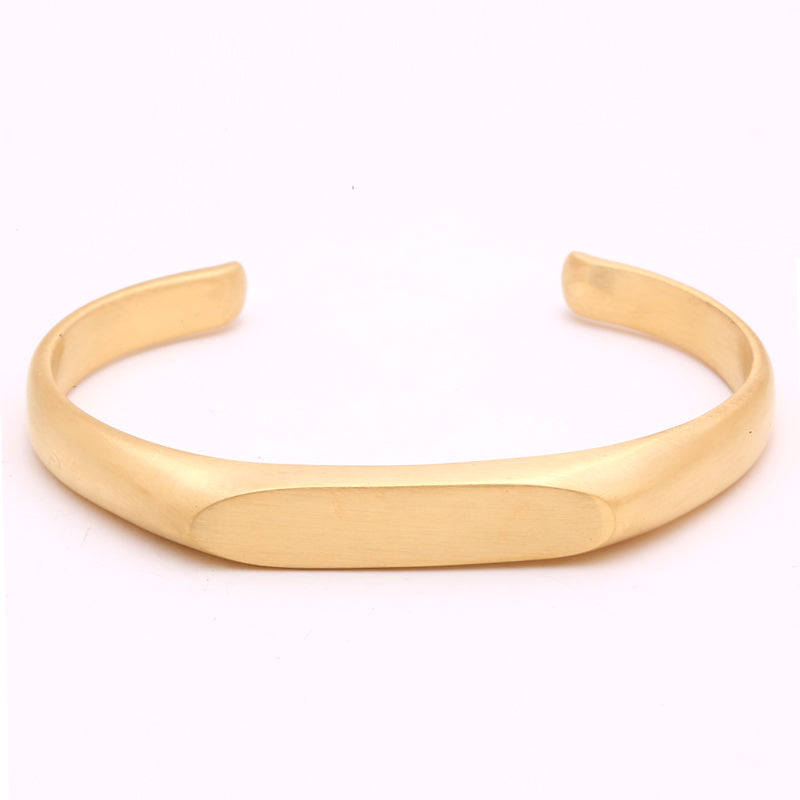 Anomaly Gold Bangle