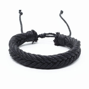 Black Braided Bracelet