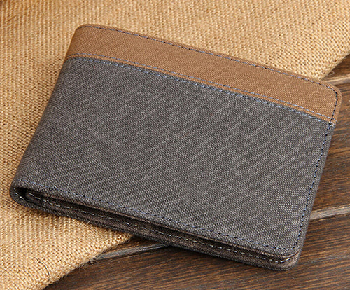 Connoisseur canvas slim wallet