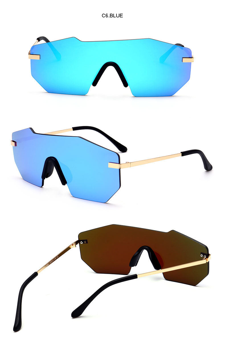 Fashionist Men's Mirrored Sunglasses