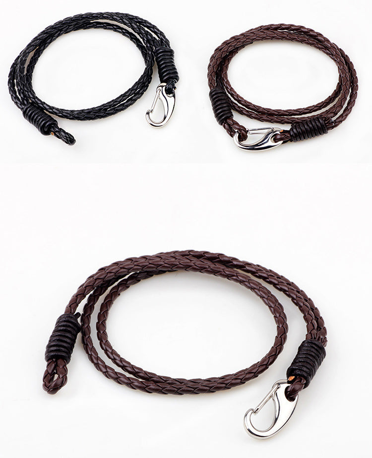 Vermin Wrap Bracelet - Black and Brown