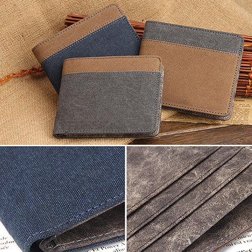Connoisseur mens slim wallet