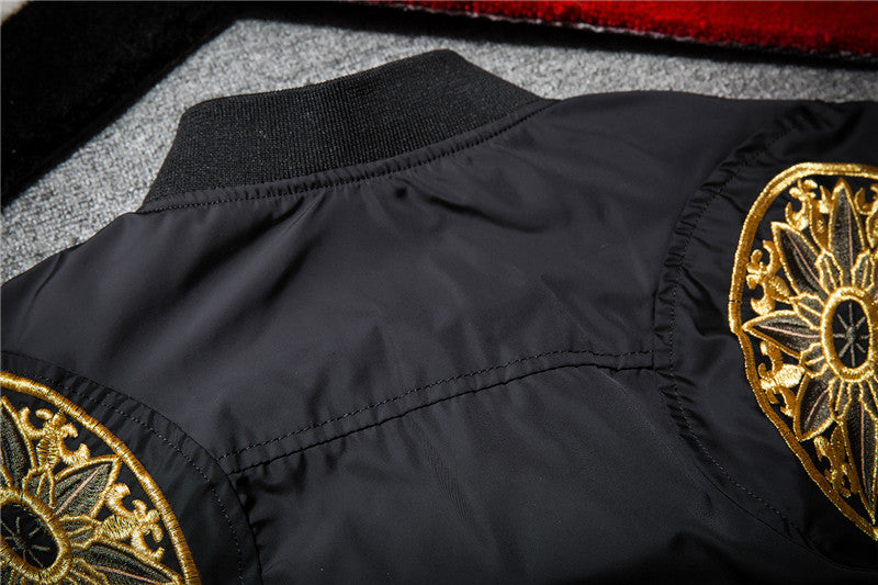 Drift Embroidered Bomber Jacket