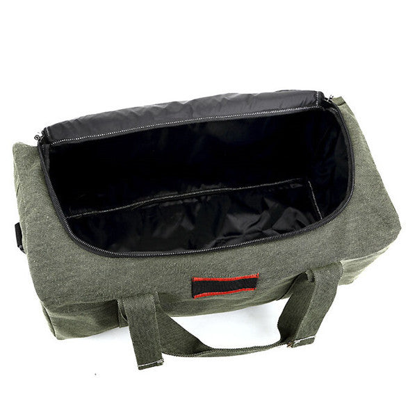 Canvas Travel Duffle Bag