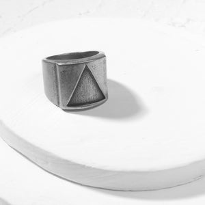 unique ring - silver