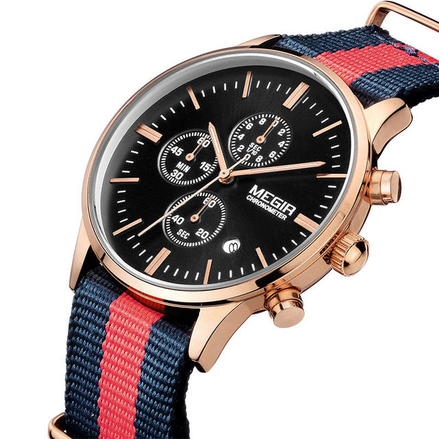 Casual Chronograph Watch