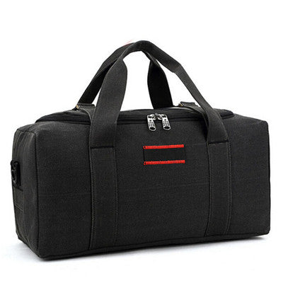Black Travel Duffle Bag