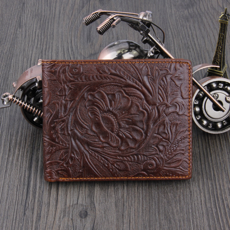 Street Cred Embossed Wallet