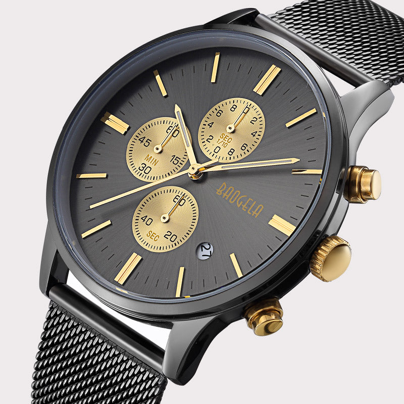 Black and Gold Watch - Monarch