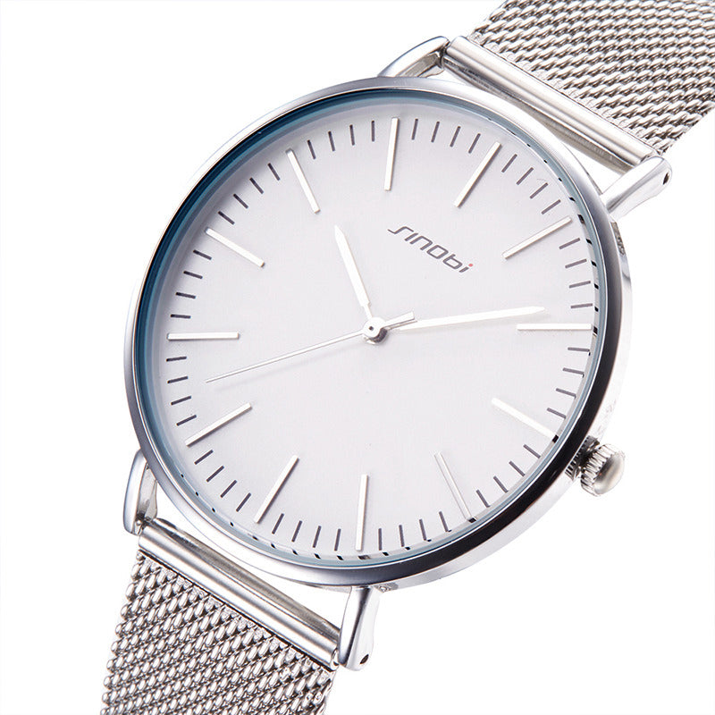 Silver Slim Men's Watch
