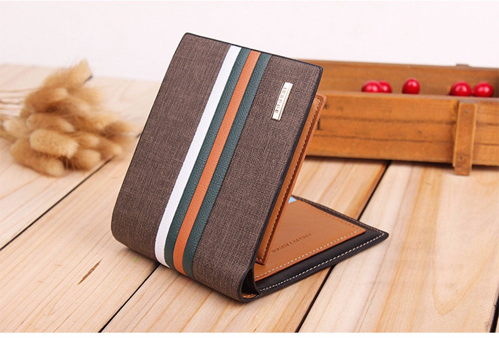 Bellissimo striped wallet