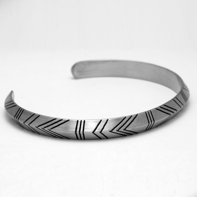 Totemic Cuff Bangle Bracelet