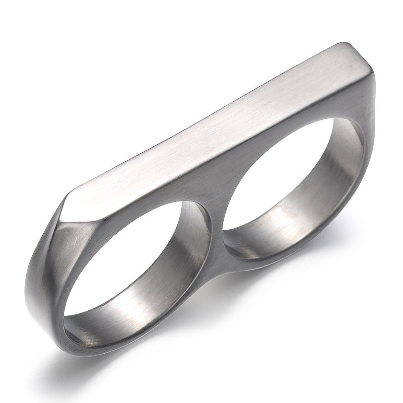 double finger ring