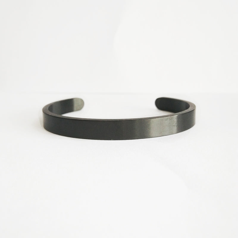 black fashion bangle