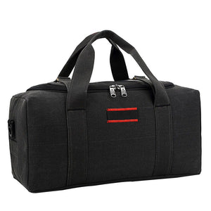 Black Travel Duffle Bag - Stigma