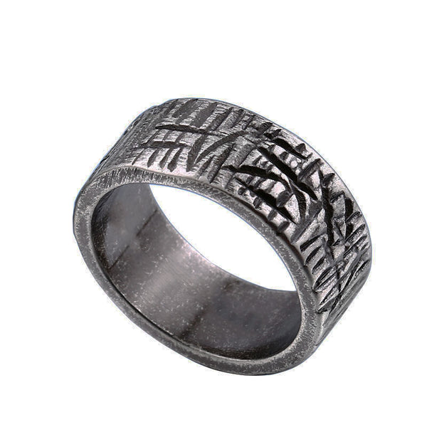 Cicatrix Carved Ring