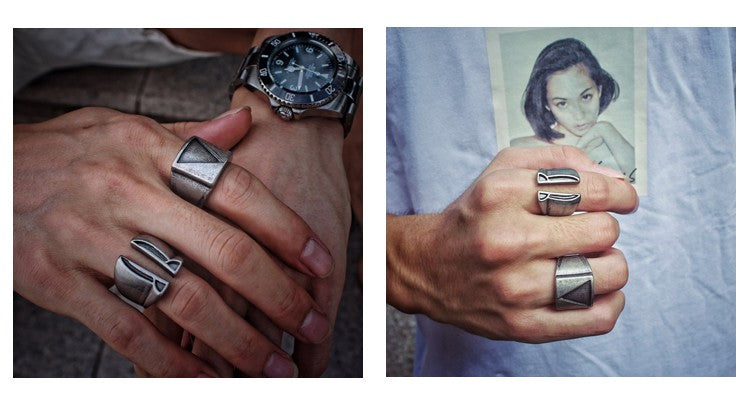 cool mens rings