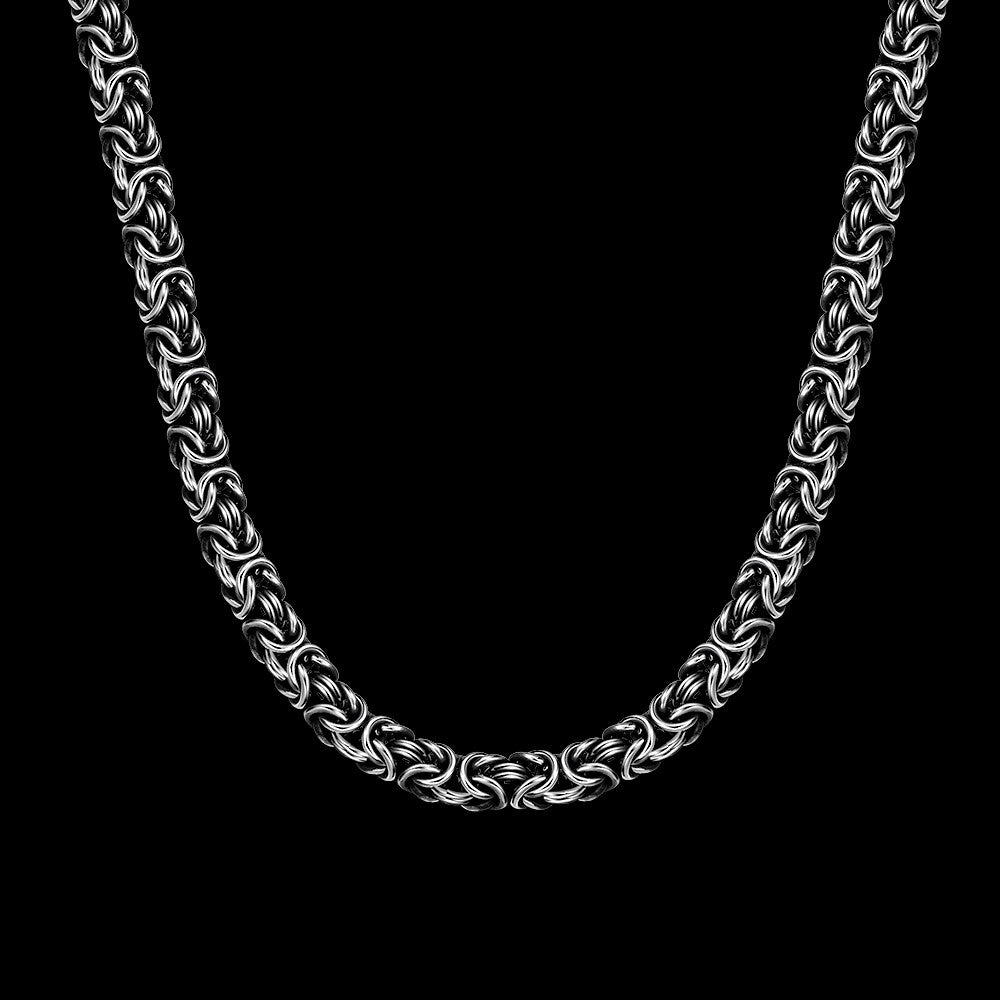 Beast Silver Chain Necklace