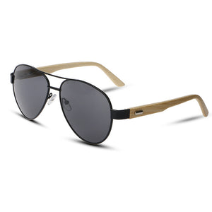 Hue Mirrored Aviator Sunglasses