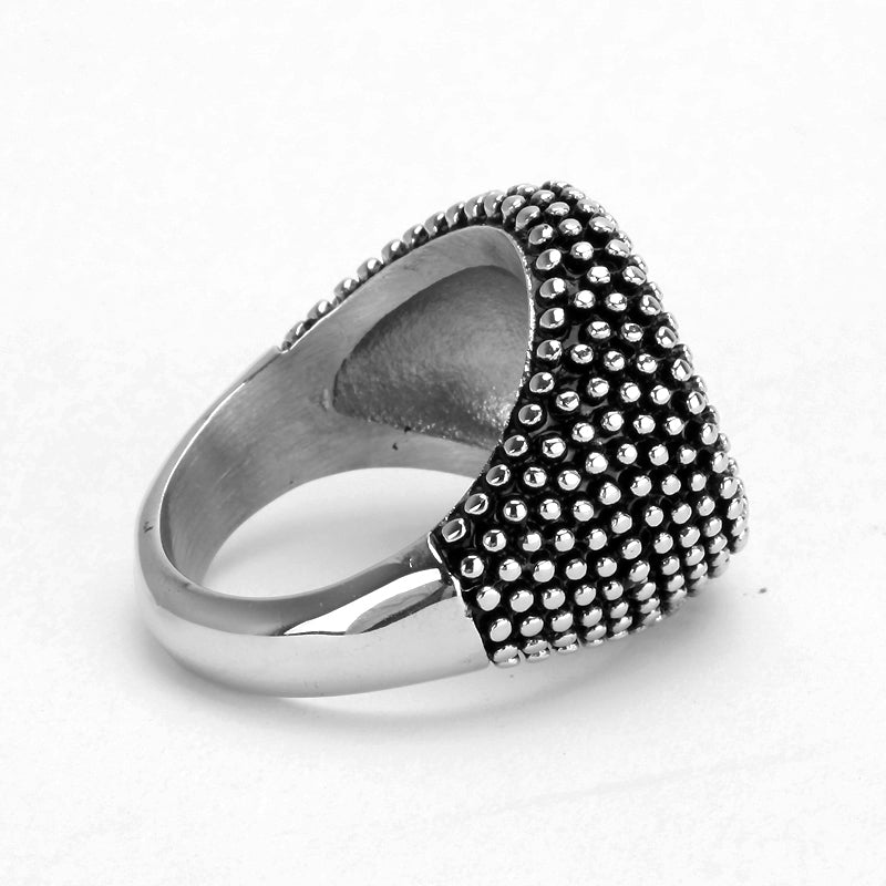 mens fashion ring - python