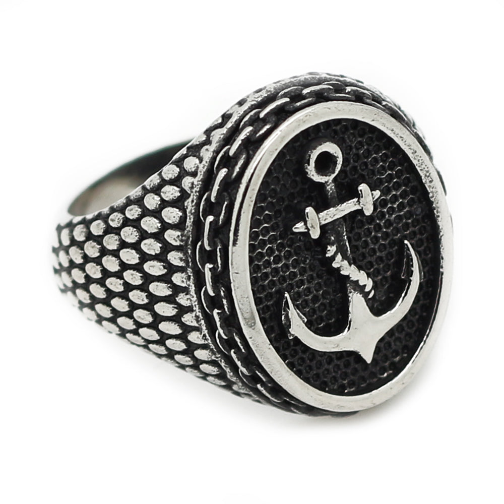 sea spray mens anchor ring