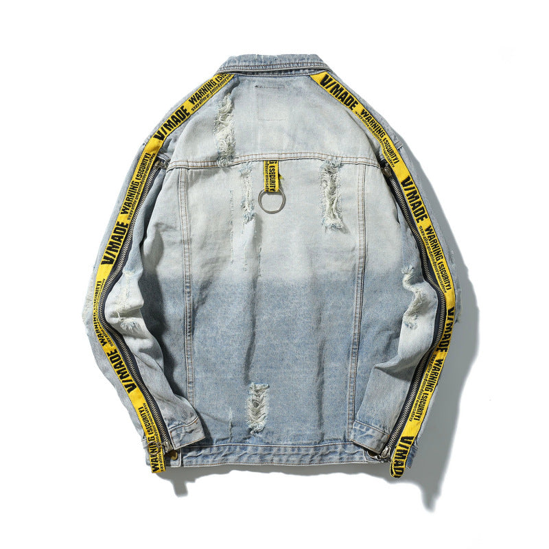 Vigil Distressed Denim Jacket