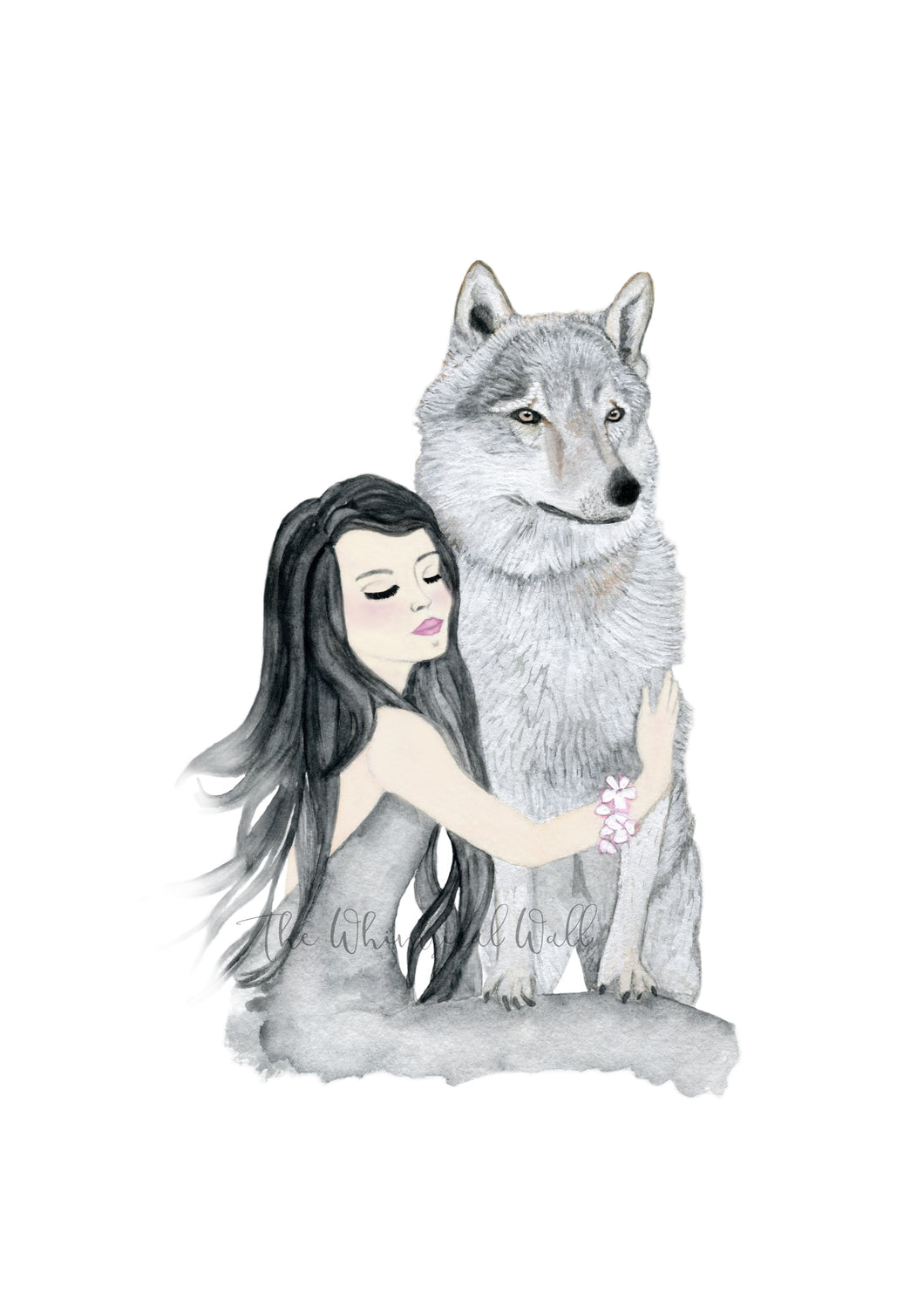 Girl and Wolf