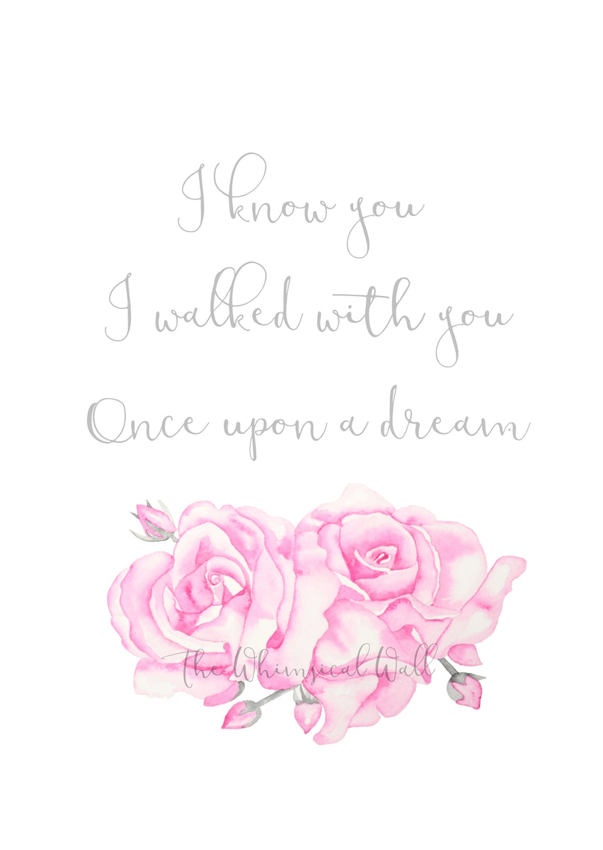 """""""Once upon a dream"""" *custom option – The Whimsical Wall"""