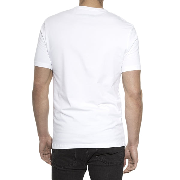 V Neck T-Shirt - White