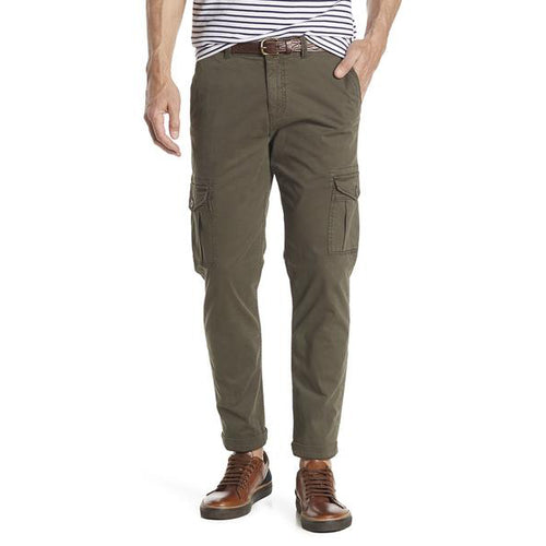Cargo Stretch Straight Leg Pants - 301 Olive