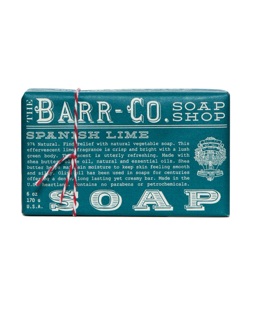 Spanish Lime Bar Soap, 6 oz.