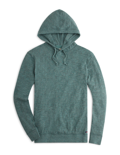 Slub Cotton Hoodie - Evergreen