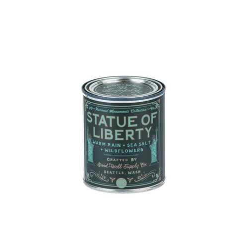 National Monuments Collection Candle - Statue Of Liberty