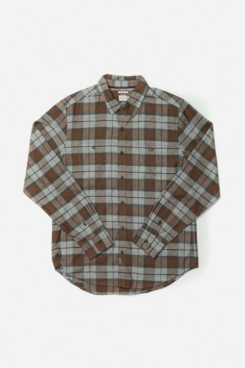 Winslow Long Sleeve Button Up - Sienna Plaid